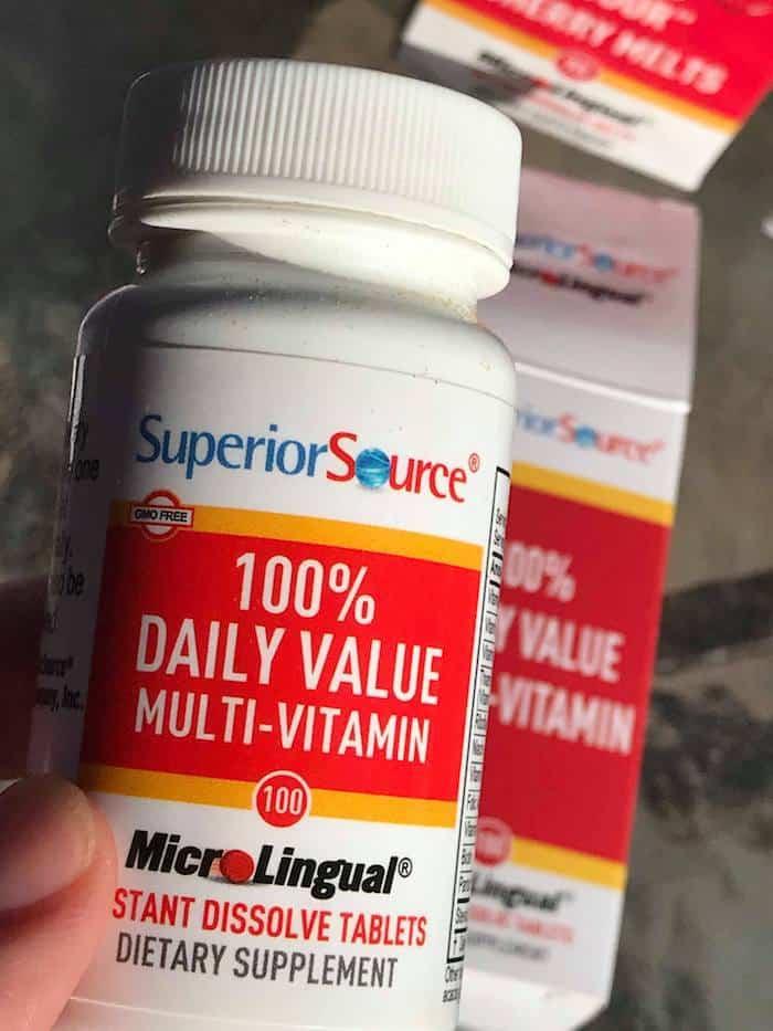 Multi-Vitamin, Superior Source Vitamins