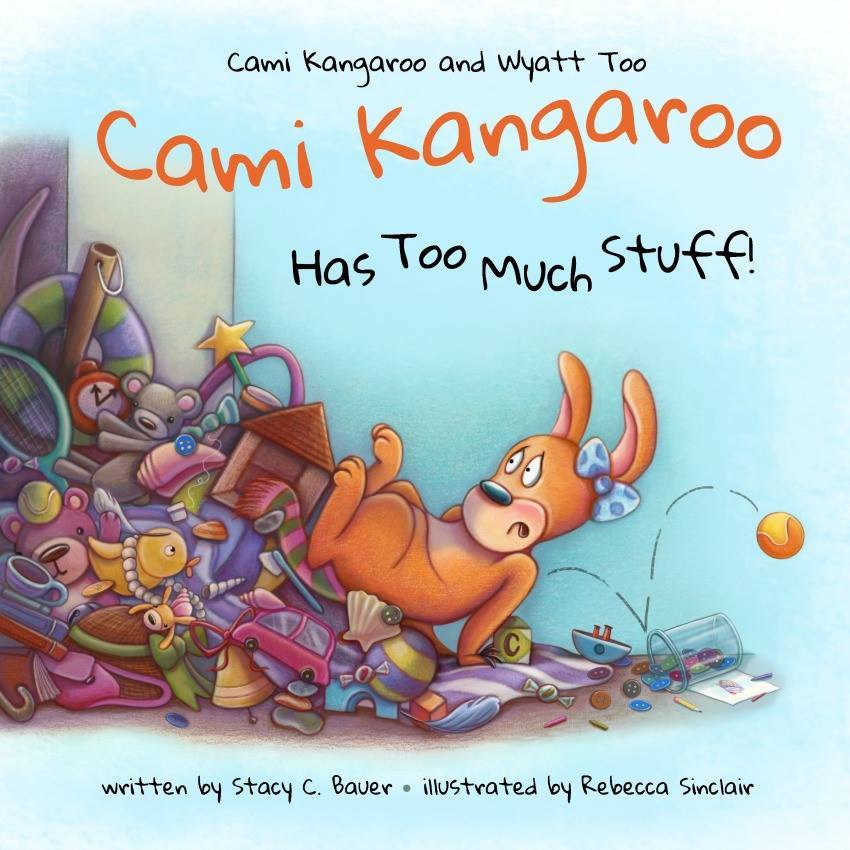 Cami Kangaroo children's book by Author Stacy Bauer