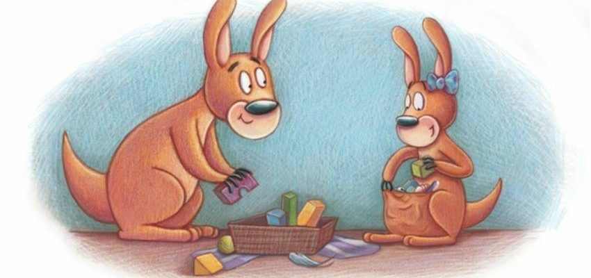 Cami Kangaroo Has Too Much Stuff by Children's Author Stacy Bauer