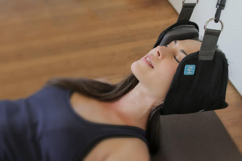 Neck Hammock Releases Neck Pain and Tension