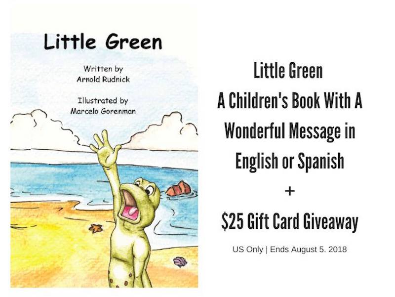 Little Green Children's Book by Author Arnold Rudnick