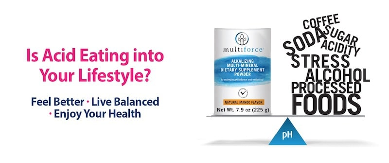 MULTIFORCE Alkalizing Multi-Mineral Supplement