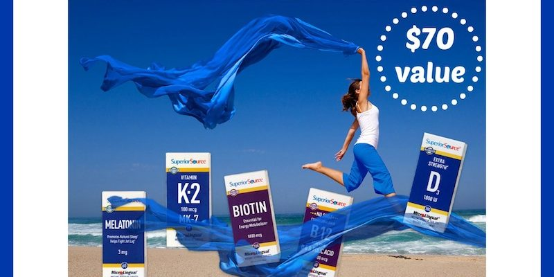 Give the Gift of Health with Superior Source Vitamins!