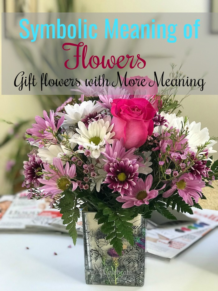 Symbolic meaning of flowers has been always a language for the lovers, best friends, and even powers at war. Discover what your flower bouquet could mean to a giver. #flowers #gifts #loveoutloud #mothersday #forher #giftideas