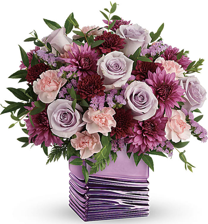 Teleflora Liquid Lavender Bouquet for Mothers Day gift