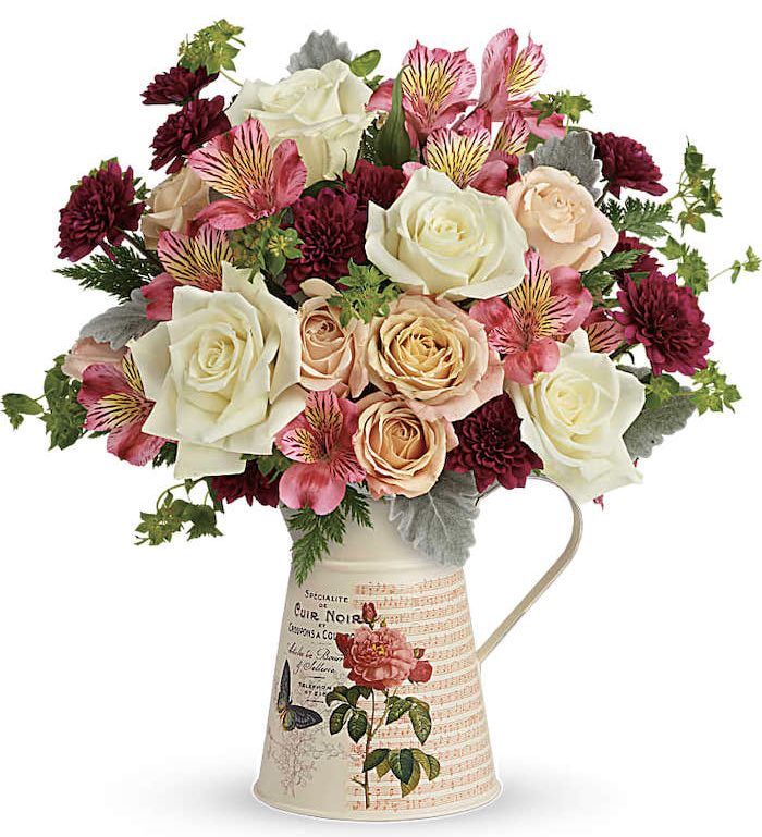 Teleflora Mod Mademoiselle bouquet for Mother's Day gift