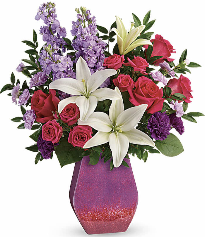 Regal Blossoms Bouquet with powerful flower meaning