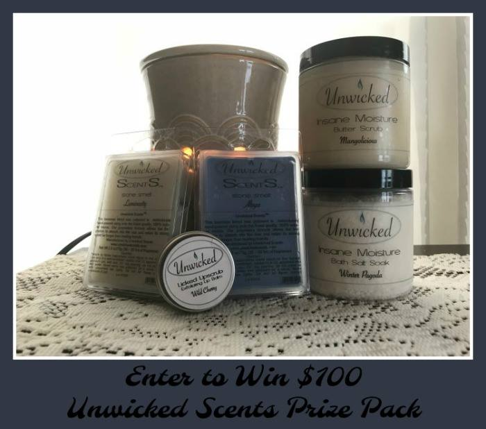 Relax with many scents from Unwicked Scents! They have soy candles, smelts, butter body scrubs and bath salts. Unwicked Scents Pebble Smelt is one of my favorite. #HeartThis #giftidea #mothersday #holidaygift #soycandles #candles #smelts