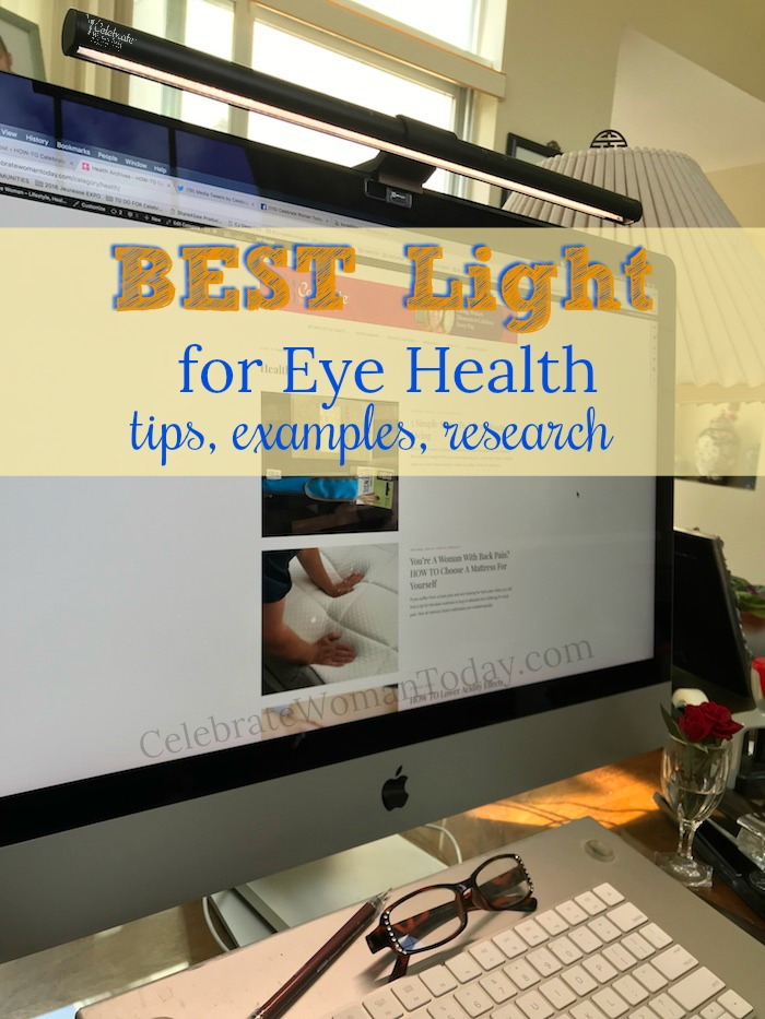 How To find the best light for eye health. Choose the light source that supports good lighting like BenQ lamp