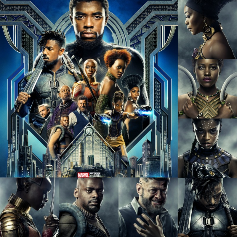 Download FREE high resolution posters from MARVEL BLACK PANTHER MOVIE