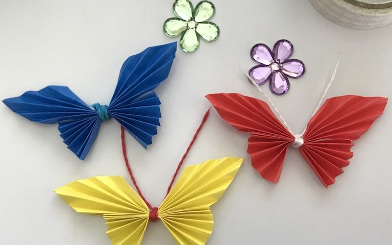 Easy Paper Butterfly Tutorial