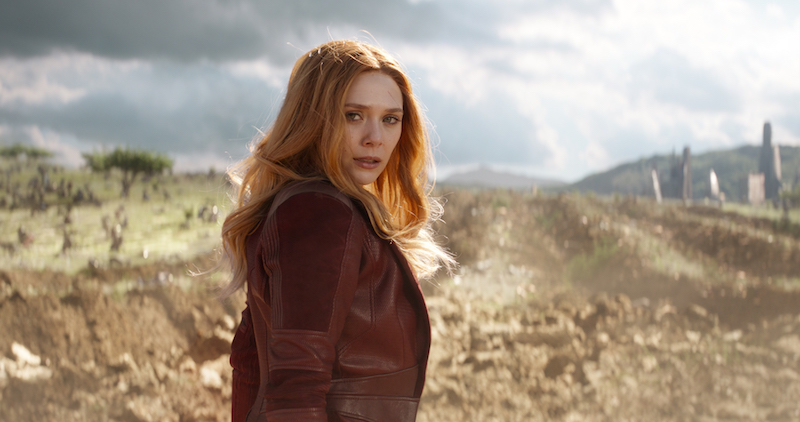 Brilliant MARVEL Cast AVENGERS: INFINITY WAR Scarlet Witch/Wanda Maximoff, Actress Elizabeth Olsen