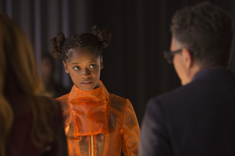 Brilliant MARVEL Cast AVENGERS: INFINITY WAR Shuri, Actress Letitia Wright
