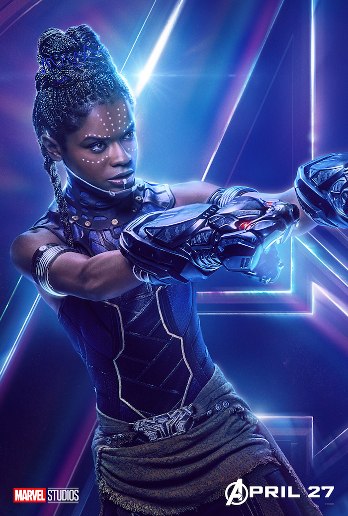 AVENGERS: INFINITY WAR Shuri, Actress Letitia Wright