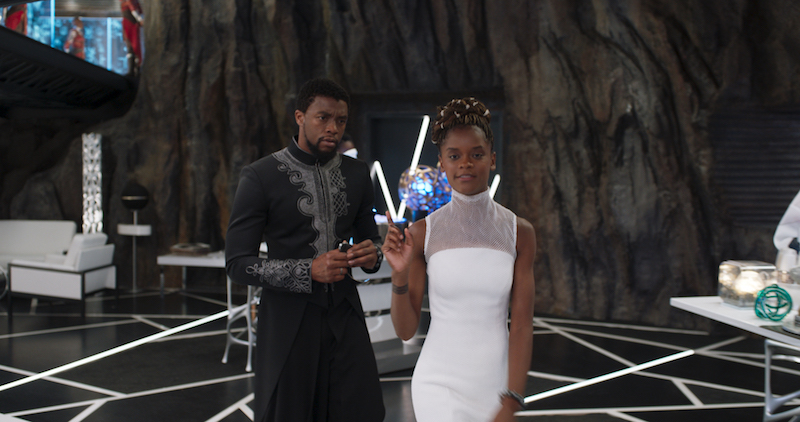Letitia Wright played Princess Shuri in Black Panther Marvel Movie