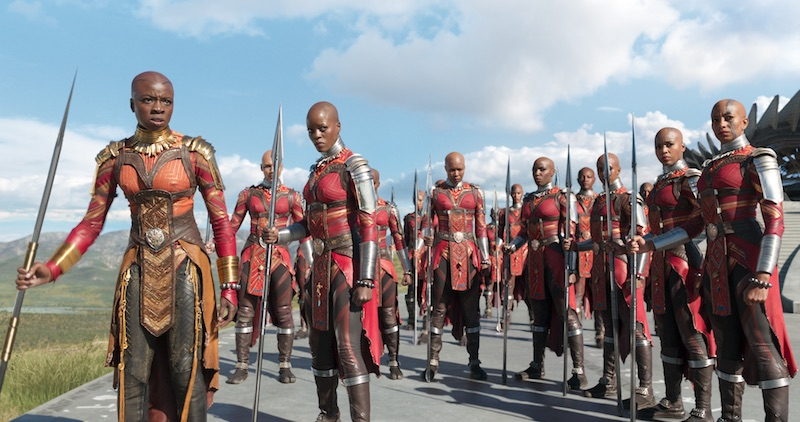 Women of Wakanda warriors in Black Panther by Marvel