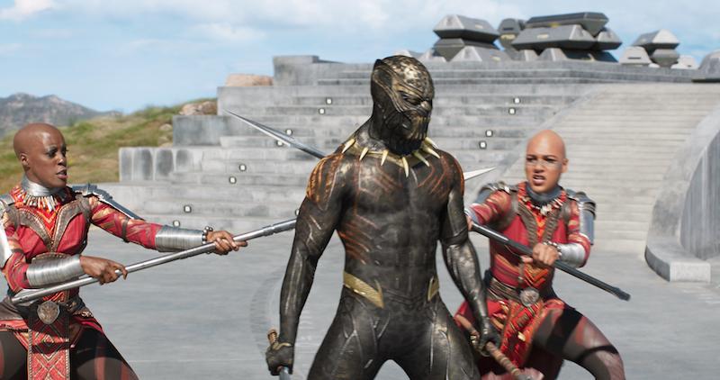 Women of Wakanda Warriors in Black Panther MARVEL MOVIE