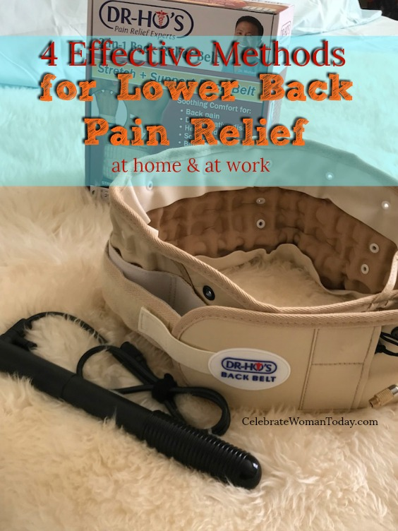 4 Effective Tips for Lower Back Pain Relief At Home. Lower back pain relief is possible with these 4 effective tips for pain management at home. DR. HO'S Decompression belt is one of the home remedies for lower back pain relief.