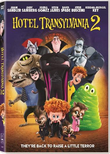 Sony Pictures HOTEL TRANSYLVANIA 2 DVD