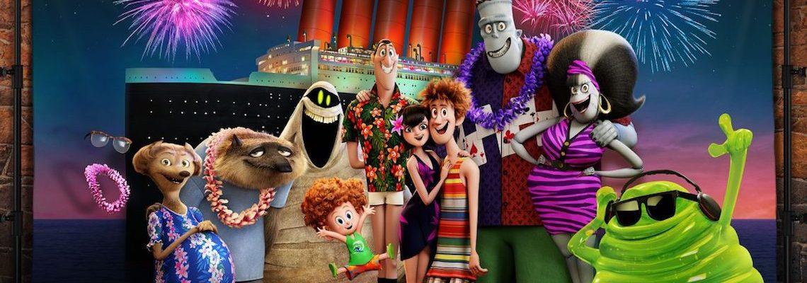Halloween Family Movie Night With HOTEL TRANSYLVANIA 3 Blu-ray DVD