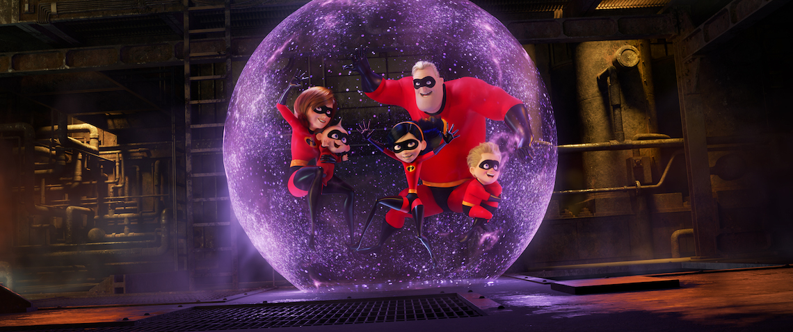 Disney Movies is thrilling with release of INCREDIBLES 2