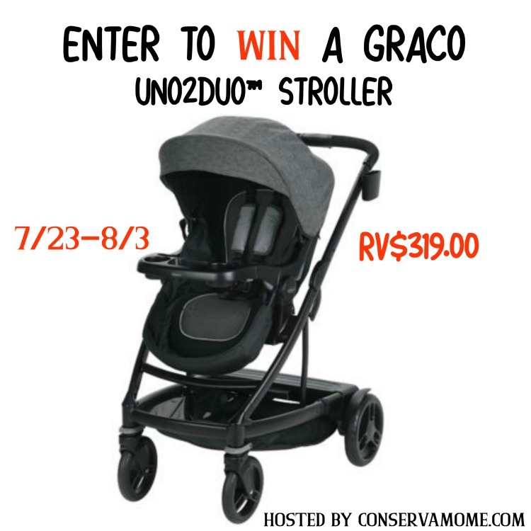 A unique travel system for babies and toddlers is this GRACO Uno2Duo stroller