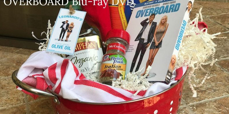 Lionsgate OVERBOARD Blu-ray And Spaghetti Cooking Set