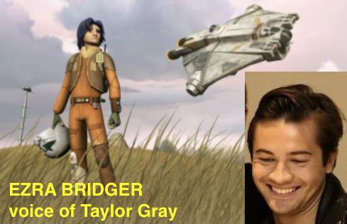 Star Wars Rebels The Complete Season Four. Taylor Gray as EZRA Bridger