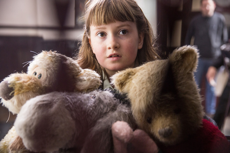 Interview with Bronte Carmichael in Disney's live-action adventure CHRISTOPHER ROBIN