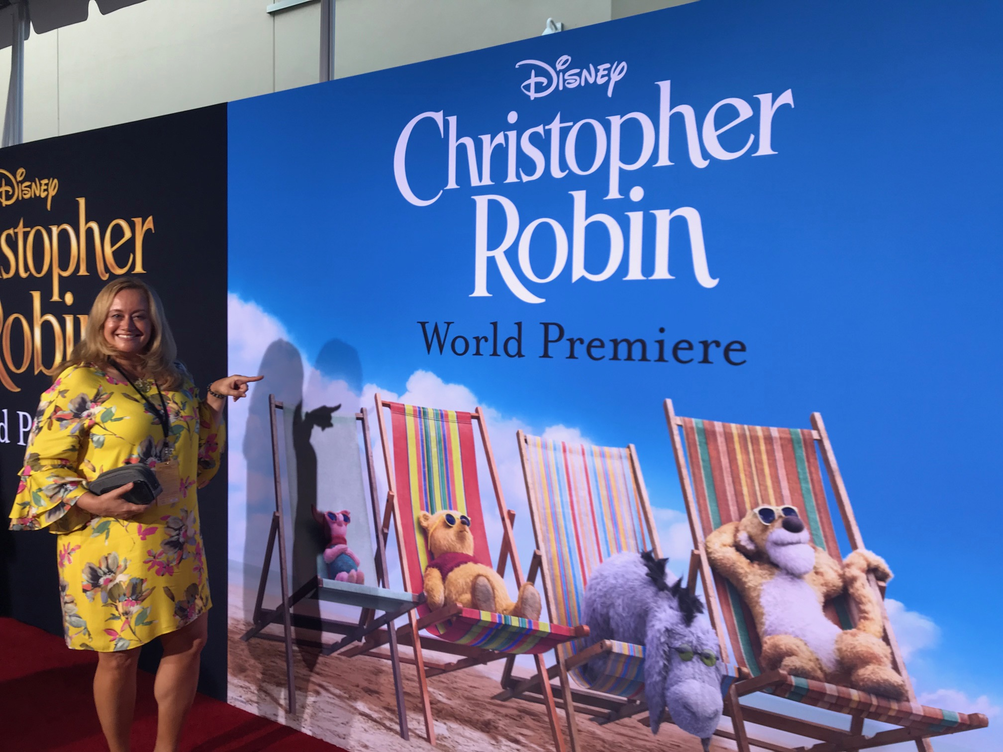 Celebrate Woman Today on the Red Carpet Christopher Robin World Premiere