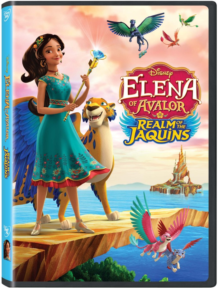 Elena of Avalor Realm of the Jaquins DVD will inspire your little girl to be more self-confident