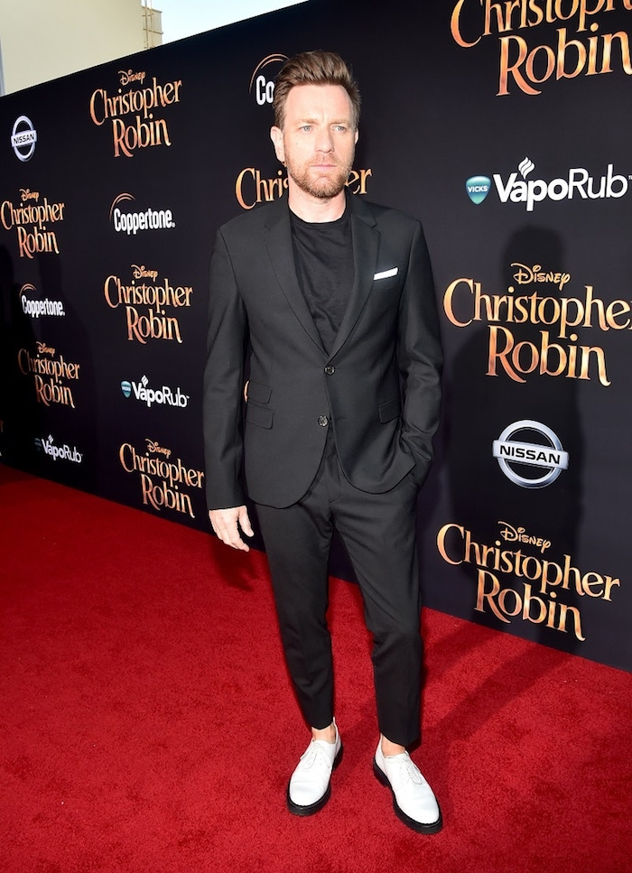Red Carpet Christopher Robin World Premiere