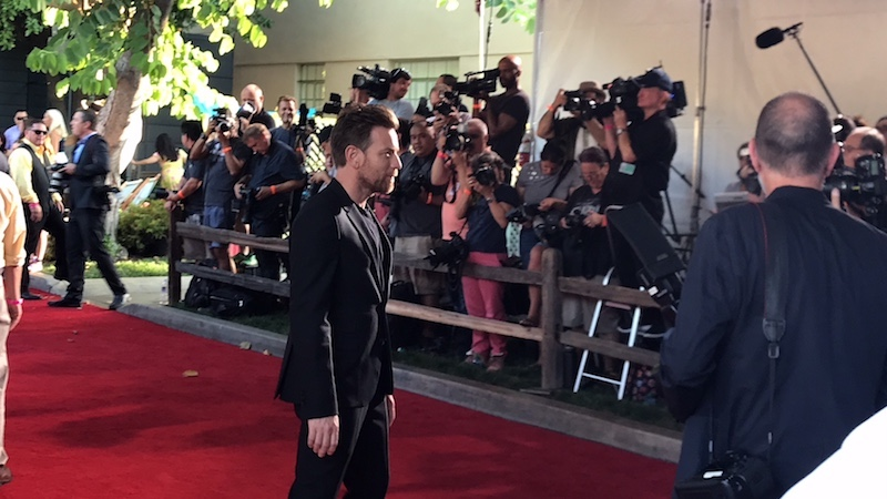 Ewan McGregor Red Carpet appearance at CHRISTOPHER ROBIN World Premiere