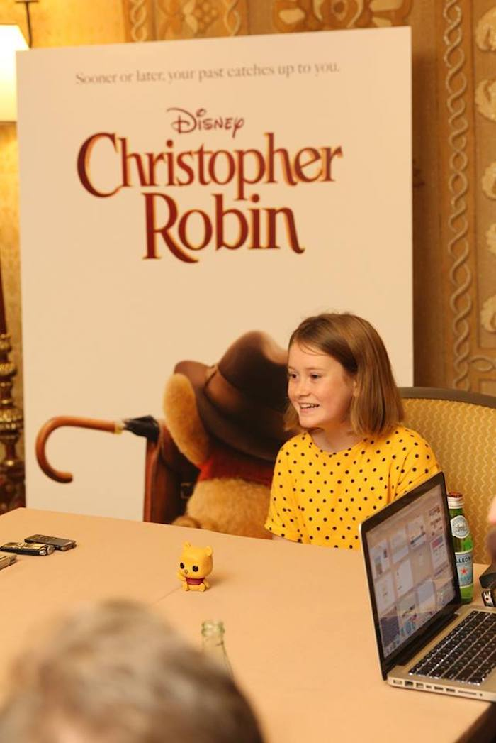Bronte Carmichael Interview About Her Role in Christopher Robin