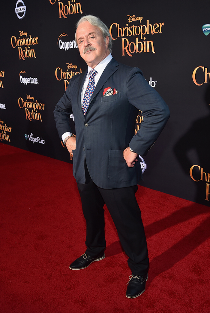 Jim Cummings who lends his voice to Winnie the Pooh and Tigger looked awesome on Red Carpet Christopher Robin World Premiere
