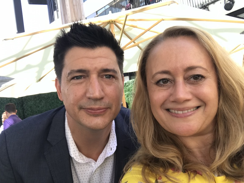 KEN MARINO, Director of the movie, and one of the best people to talk to! DOG DAYS Red Carpet Movie Premiere