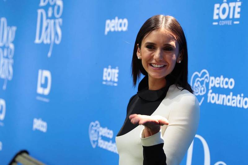 Actress Nina Dobrev on the DOG DAYS Red Carpet Movie Premiere