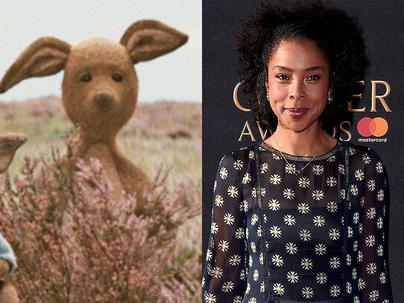 Sophie Okonedo voice behind Kanga in Disney's CHRISTOPHER ROBIN movie