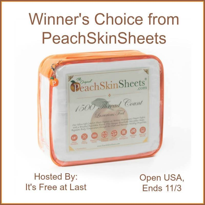 Weightless PeachSkinSheets for women in menopause