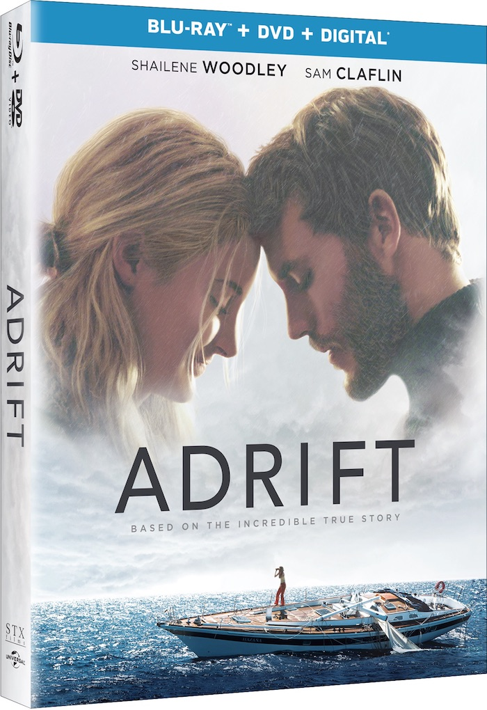 ADRIFT Movie on Blu-ray DVD