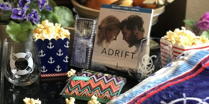 ADRIFT Movie on Blu-ray DVD for Your Family Movie Night