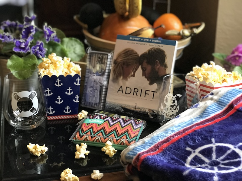 ADRIFT movie is on Blu-ray DVD