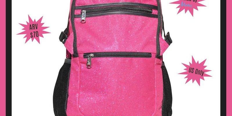 Back To School With Obersee Paris Sparkle Backpack