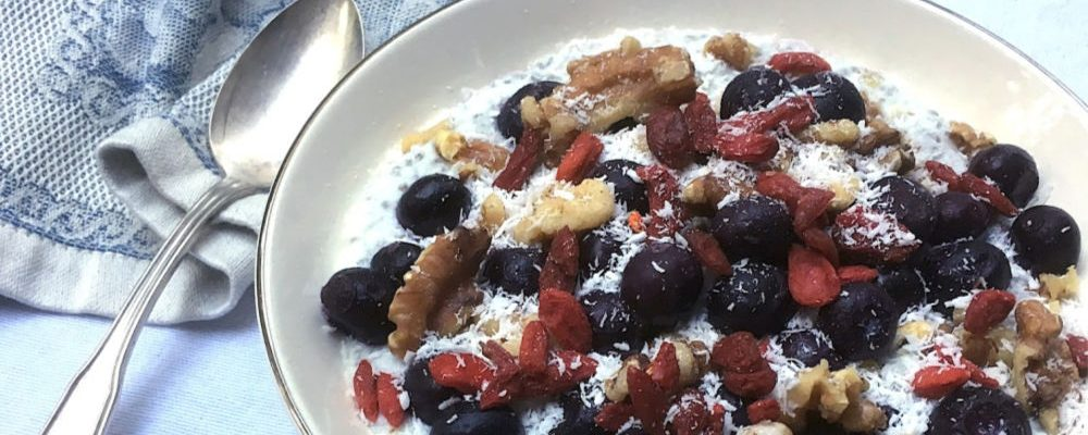 Blueberry And Chia Breakfast Bowl Recipe for A Modern Woman