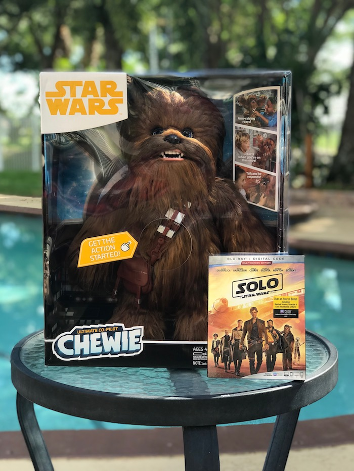 Ultimate Co-Pilot Chewbacca toy from SOLO: A Star Wars Story