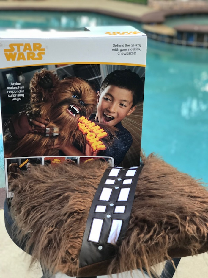 Chewie Pillow and Ultimate Co-Pilot Chewbacca toy from SOLO: A Star Wars Story