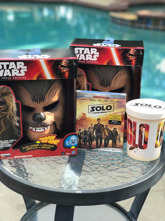 Chewbacca Mask and Ultimate Co-Pilot Chewbacca toys from SOLO: A Star Wars Story