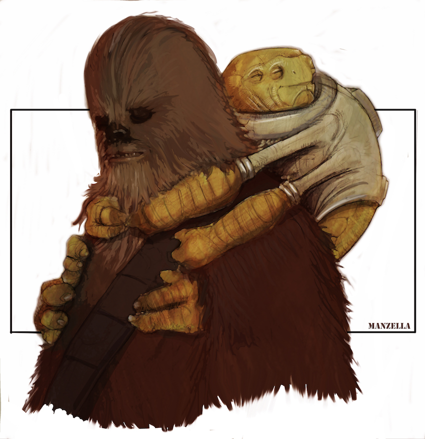 Concept Art for RIO DURANT creature in SOLO: A Star Wars Story movie