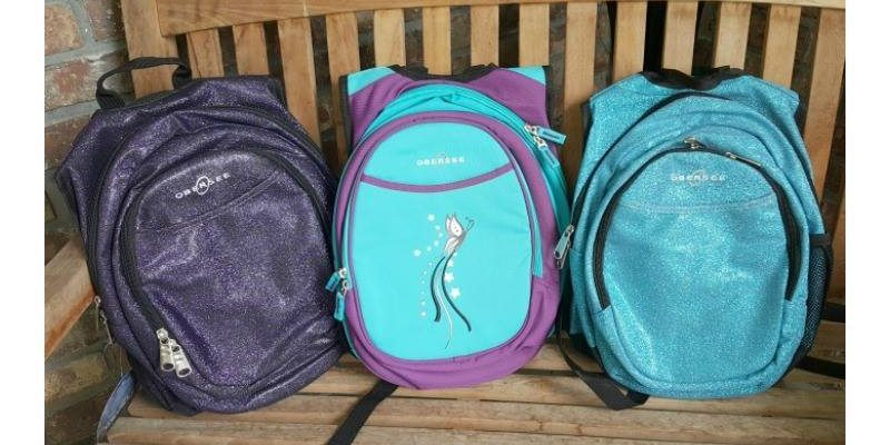 Back To School With Preschool Obersee GLITTER Backpack