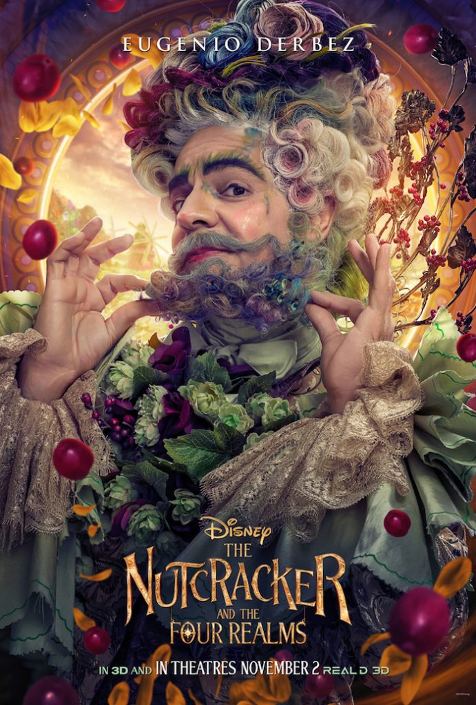 Eugenio Derbez plays HAWTHORN in Disney movie The Nutcracker And The Four Realm